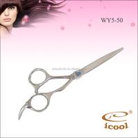 new style egonomic handle prosso hair scissors