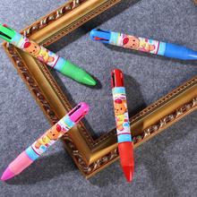 school student gift fun pen big pen Multi Color Ball Pen promotion pen custom cheap pen high quality cheap plastic pen