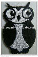 owl embroidered patches and badges
