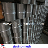 stainless steel filter cloth band / 201 filter mesh band / 15x72 wire mesh band