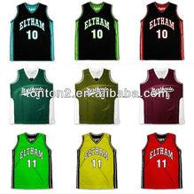 2013 hot selling custom sublimation womens basketball uniform design