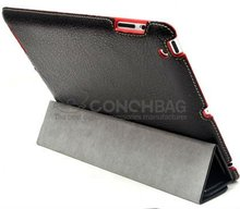 Wholesale leather case for ipad 3, for apple ipad case
