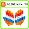 pvc inflatable cheering hand,promotion inflatable hand