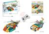 BNR900232 106pcs 2 IN1 RCTransport aircraft creative plastic Educational building block