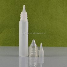 wholesale small new pen shaped 10ml plastic bottle for juice, unicorn bottle for e liquid and plastic juice bottle