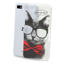 Case For Blackberry Z10 Q10 Z20 Classic cat monkey painting non-slip material