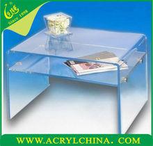 2015 Acrylic storage shelves, 2015 New acrylic house plans, acrylic stand for tea trolley