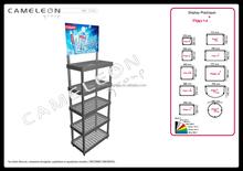 cars accessories display racks / retail store display rack / department store display cabinet