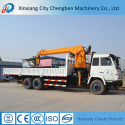 Your First Choice!!!10 Ton Knuckle Boom Truck Mounted Crane