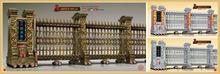 Electric folding gate