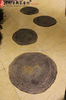 Polyresin Garden Foot Stepping Stone For Garden Decoration