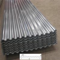22 gauge curve zinc coated corrugated metal roofing sheet