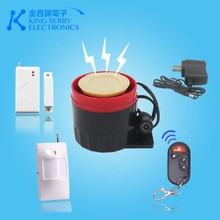 Multi function wireless home smart burglar alarm system