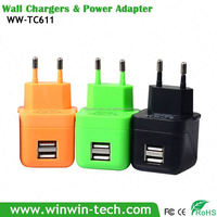 Double USB 1.8A magnetic charger for laptop