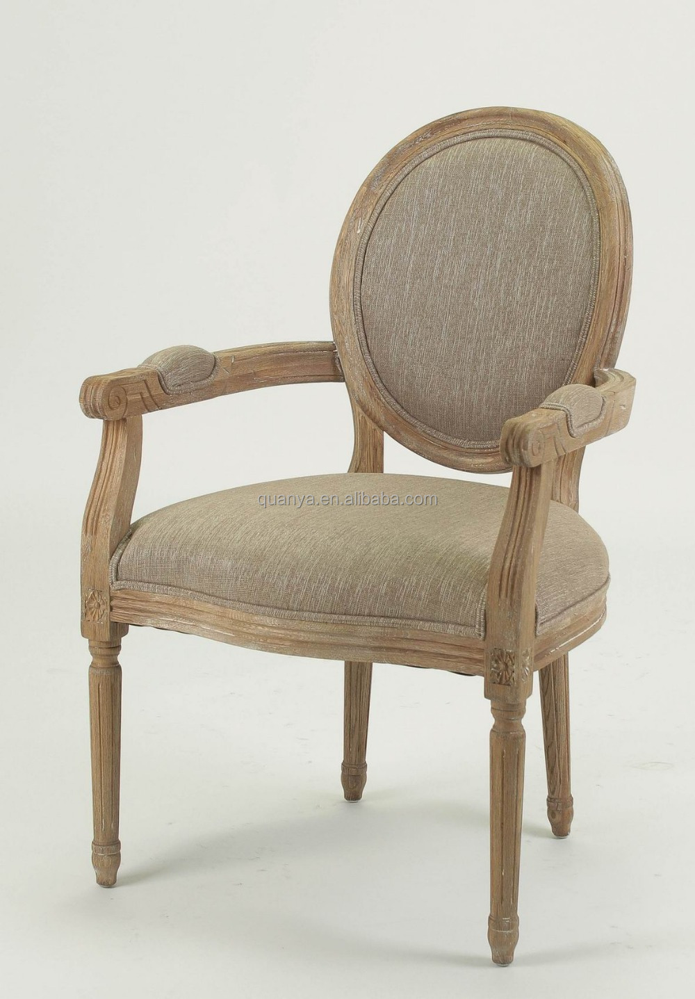 good looking french style chair oak armchair with