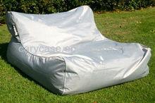Gray waterproof bean bag, floating bean bag sofa chair , XXL big lounge on water or poolside