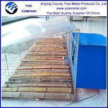 industrial metal rabbit cages(manufacturer)
