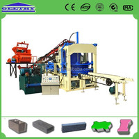 QT4-15C hollow and solid block production line
