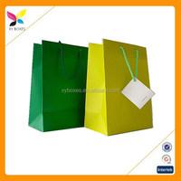 China Paper bag supplier,New style white paper bag, Custom shopping gift bag