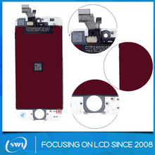 Shenzhen cell phone parts for iphone 5 lcd,grade A lcd touch screen for iphone 5,for iphone 5 lcd display
