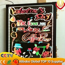 hot sales product led writing board,led neon board with marker pen high brightness