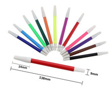 colorful washable drawing fibre pen