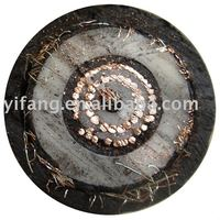 Tinned copper conductor EPR insulated DC HV concentric cable