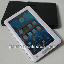 shenzhen top manufacturer 7 '' inch top e book reader touchscreen style with good quality JSC02