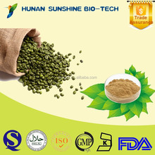 Free sample for natural antifungal Green Coffee Bean P.E. Chlorogenic Acid