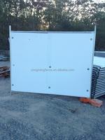 PVC or PE sheet hoarding panels,temporary hoarding panels