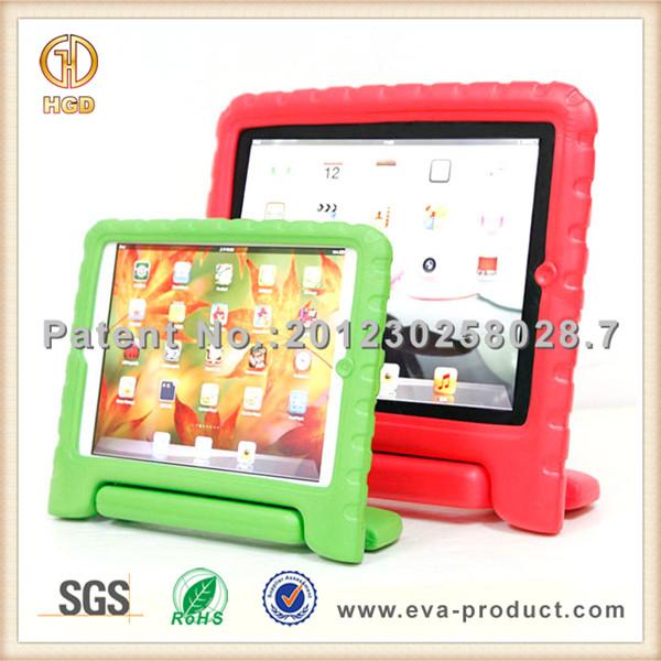 Para o caso do ipad, Crianças Tablet capa com alça, Tablet à prova de criança caso