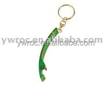 Colorful Metal Bottle Opener Key Ring