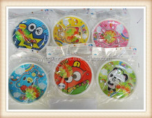 promotional light up cartoon toy suction cup catch ball