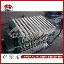 Prensa de filtros de aceite de chapa y marco de alta calidad, Máquina prensadora de filtros de aceite