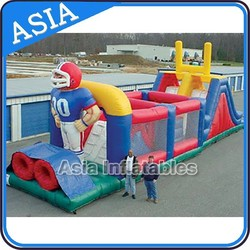 Giant Inflatable Sports Obstacle For Children
