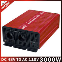3000 watts 48volt dc to ac power inverter