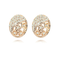 2014 Hot gold Plated Clay Ball cool stud earrings