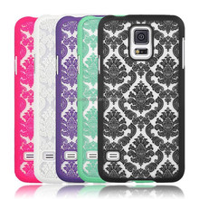 2015 Damask Vintage Pattern Matte Hard Case Cover For Galaxy s5 i9600