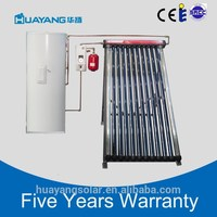 Good Quality High Efficiency Split Pressurized Solar Water Heater With One Cooper Coil For Shower