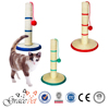 Natural Sisal Cat Scratching Post with Feather Toy