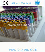 Manufacturers lithium/sodium heparin for blood collection tubes 1-10ml (PET and GLASS)