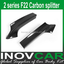 2 Series F22 Carbon Fiber Front Splitter For BMW F22 M tech splitter