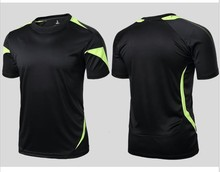 Compressed t-shirt men sports quick dry fitness clothing