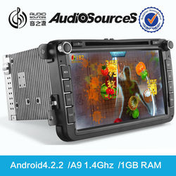 """2015 Audiosources 2 DIN UNIVERSAL 7"""" HD 1080P Android 4.2 CAR PC WITH WIFI 3G GPS DVD PLAYER"""
