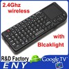 High Quality Sale Mini Wireless Keyboard Touchpad Air Mouse