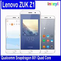 Original Unlocked Lenovo ZUK Z1 Mobile phone Touch ID Snapdragon 801 2.5GHz 3GB 64GB 5.5 Inch 4100mAh 8.0MP 13.0MP mobile phone