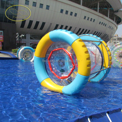 Factory water toys,giant bubble ball,inflatable water wheel for sale