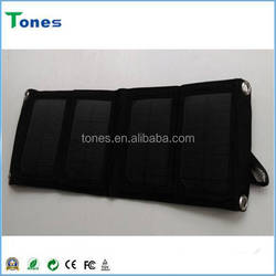 2015 Low Price Portable Solar Mobile Phone Charger Foldable Solar Power Bank Solar Panel Charger