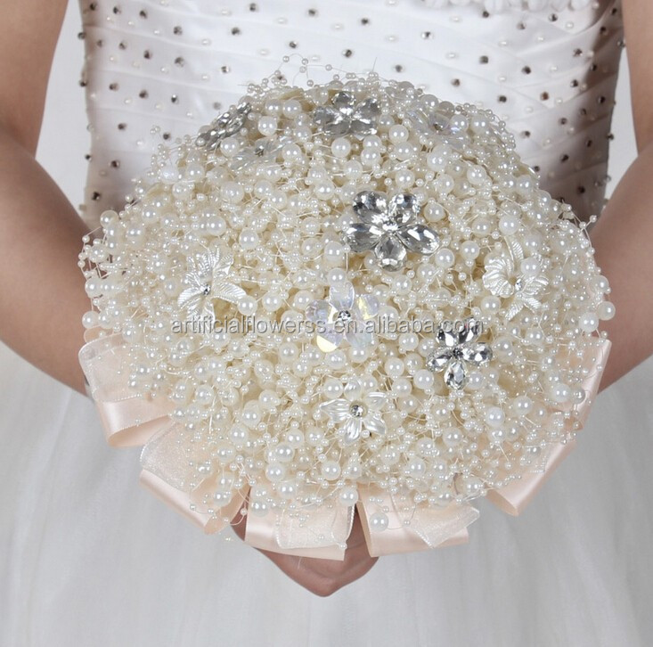 how to make brooch bouquet with bouquet holder