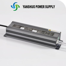 IP67 CE ROHS approved colorful box constant voltage 12v 150w power supply switching led driver